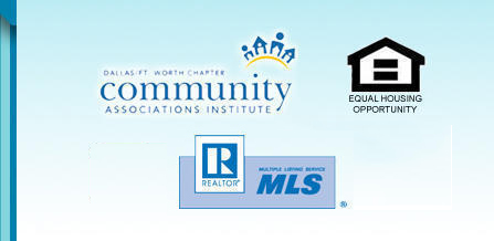 Community Associations Institute, BBB and MLS logos